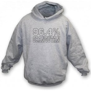 96.4% Orangutan (As Worn By Bill Bailey) Hooded Sweatshirt