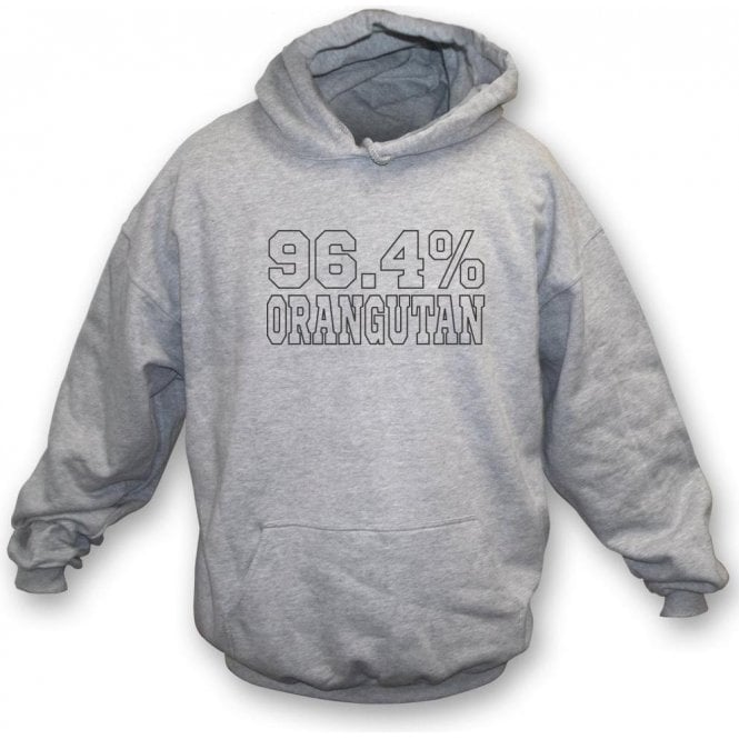 96.4% Orangutan (As Worn By Bill Bailey) Kids Hooded Sweatshirt