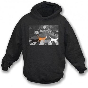 Abbey Road Cats Kids Hooded Sweatshirt