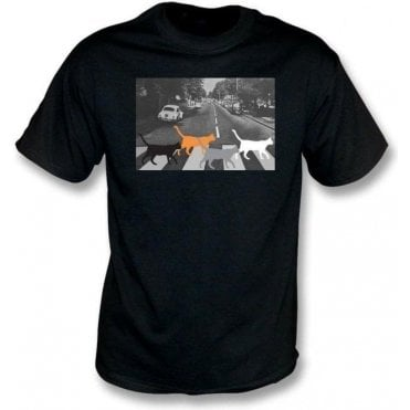 Abbey Road Cats Kids T-Shirt
