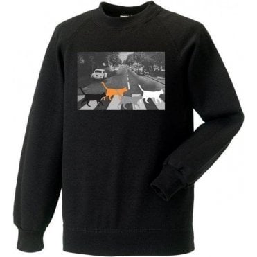 Abbey Road Cats Sweatshirt