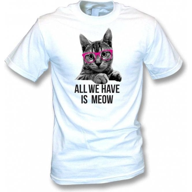 All We Have Is Meow T-Shirt