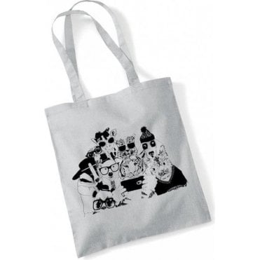Animal Selfie Long Handled Tote Bag