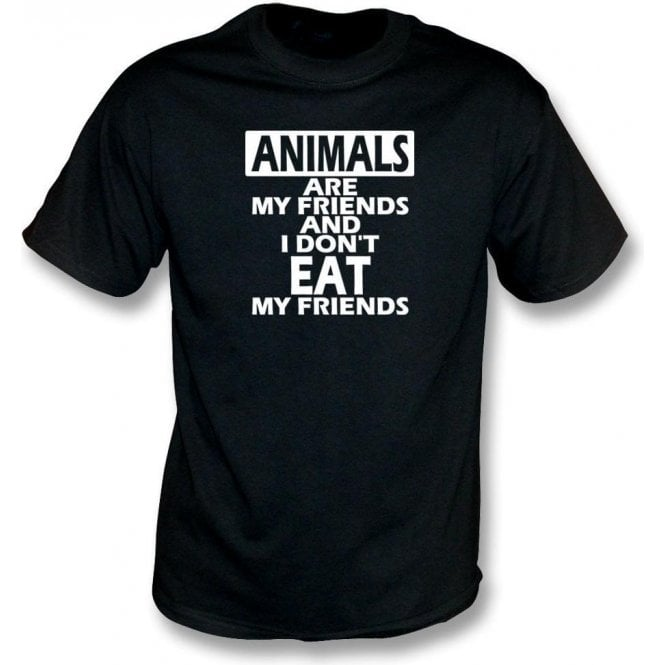 Animals Are My Friends Kids T-Shirt