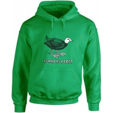 As Bald As A Coot Hooded Sweatshirt
