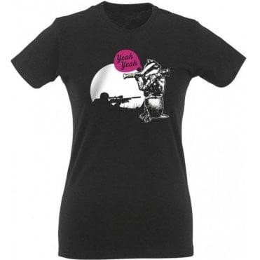 Badger Bazooka Yeah Yeah Womens Slim Fit T-Shirt