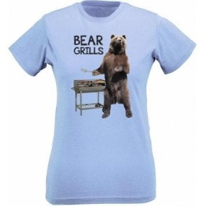 Bear Grills Womens Slim Fit T-Shirt