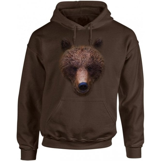 Bears Head Hooded Sweatshirt