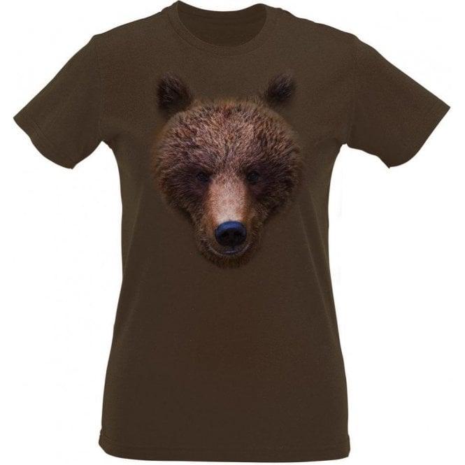 Bears Head Womens Slim Fit T-Shirt