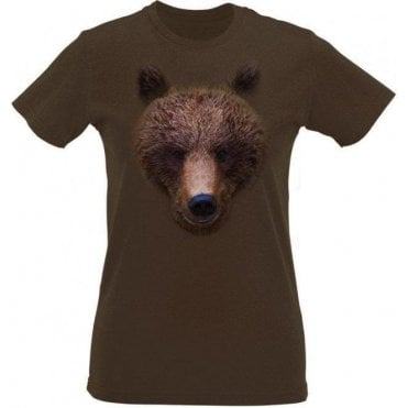 Bears Head Womens Slim Fit T-Shirt