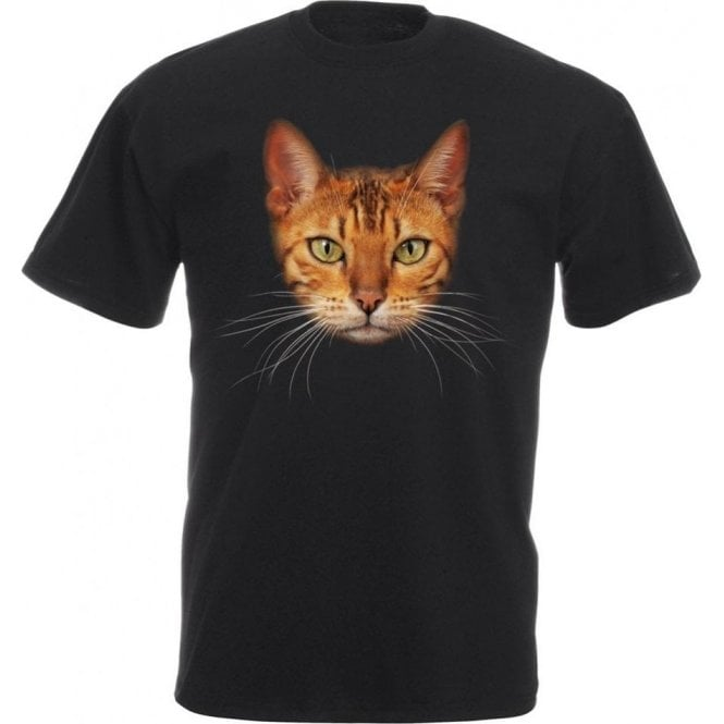Bengal Cat Face Kids T-Shirt