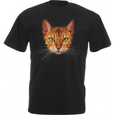 Bengal Cat Face Kids T-Shirt