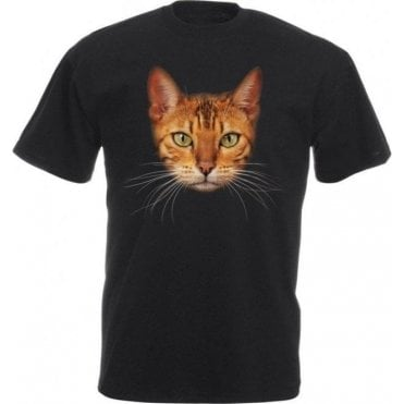 Bengal Cat Face T-Shirt