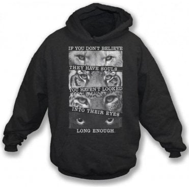 Big Cats Kids Hooded Sweatshirt