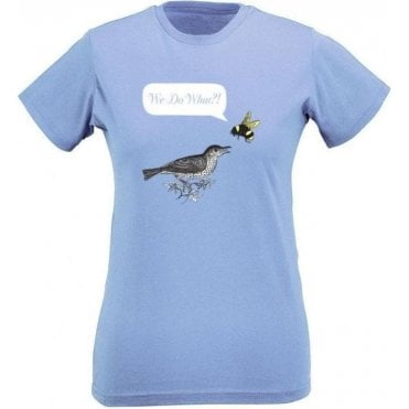 Birds & Bees Women's Slim Fit T-Shirt