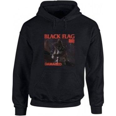 Black Flag Kitty Hooded Sweatshirt