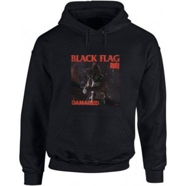 Black Flag Kitty Kids Hooded Sweatshirt