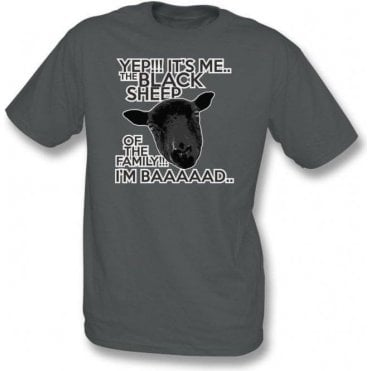 Black Sheep Of The Family Kids T-Shirt