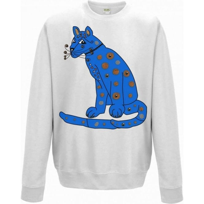 Blue Cat (As Worn By Agnetha Faltskog, ABBA) Kids Sweatshirt