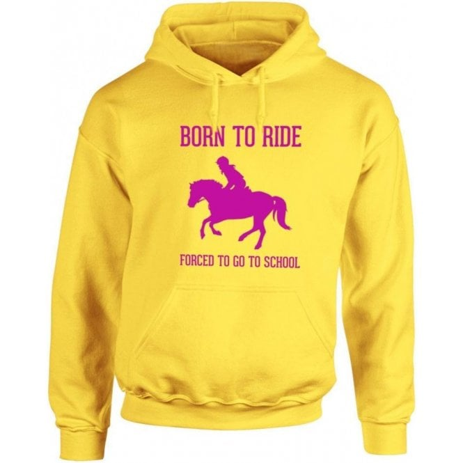 Born To Ride Kids Hooded Sweatshirt