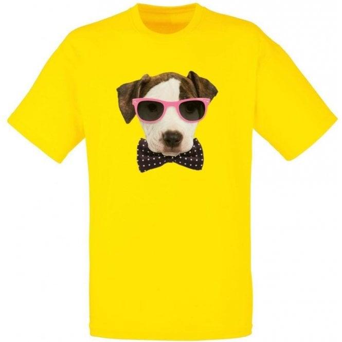 Bow Tie Dog Kids T-Shirt