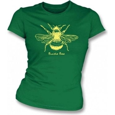 Bumble Bee (As Worn By Gillian Anderson) Womens Slim Fit T-Shirt