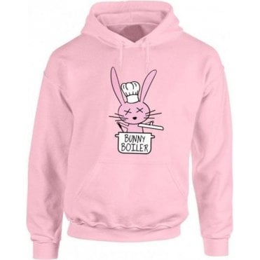 Bunny Boiler Kids Hooded Sweatshirt