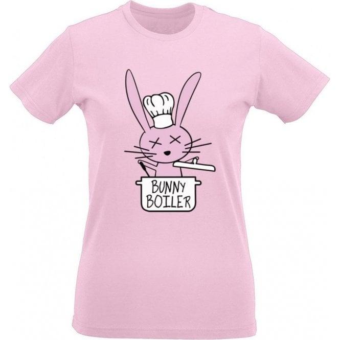 Bunny Boiler Women's Slim Fit T-Shirt