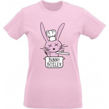 Bunny Boiler Women's Slim Fit T-Shirt