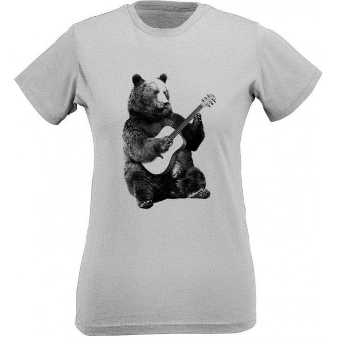 Busker Bear Women's Slim Fit T-Shirt