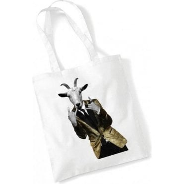 Cabaret Goat Head Long Handled Tote Bag