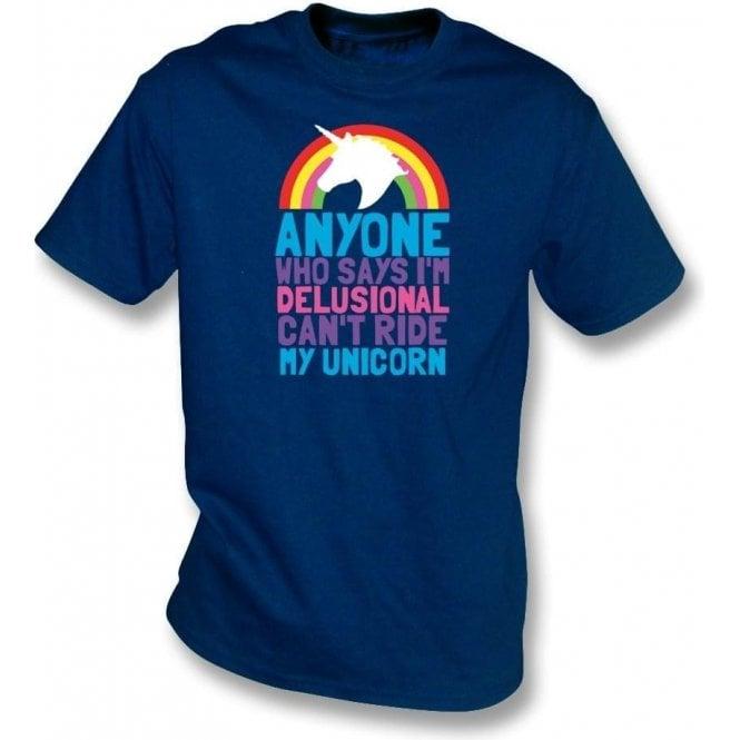 Can't Ride My Unicorn Kids T-Shirt
