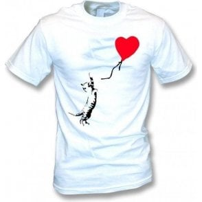 Cat (Banksy Art) T-Shirt