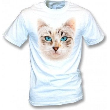 Cat Face Kids T-Shirt