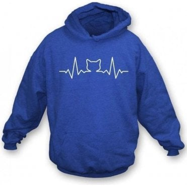 Cat Heartbeat Hooded Sweatshirt