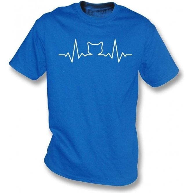 Cat Heartbeat Kids T-Shirt