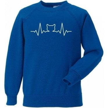 Cat Heartbeat Sweatshirt