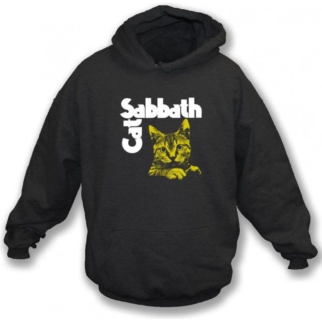 Cat Sabbath Kids Hooded Sweatshirt