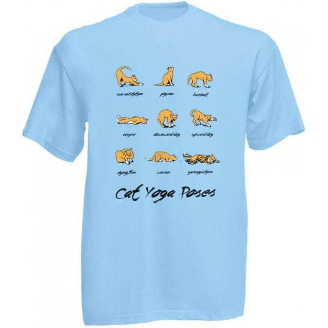 Cat Yoga Kids T-Shirt