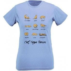Cat Yoga Women's Slim Fit T-Shirt