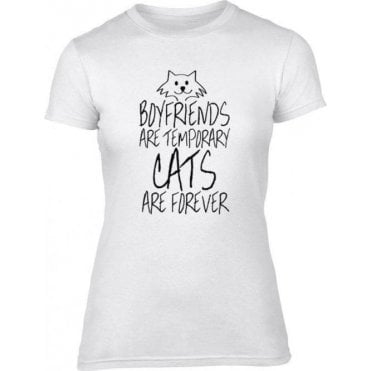 Cats are Forever Women's Slim Fit T-Shirt
