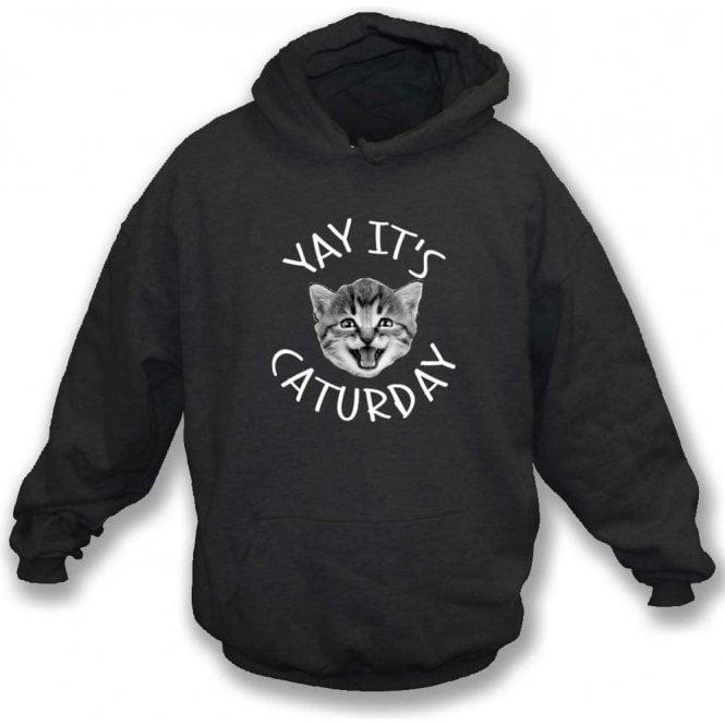 Caturday Hooded Sweatshirt
