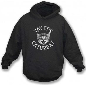 Caturday Hooded Sweatshirt