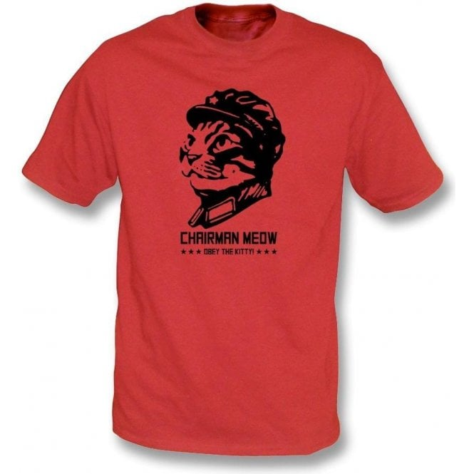 Chairman Meow Kids T-Shirt