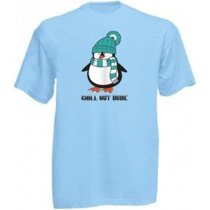 Chill Out Dude (Cartoon) Kids T-Shirt
