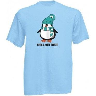 Chill Out Dude (Cartoon) Kids T-Shirt