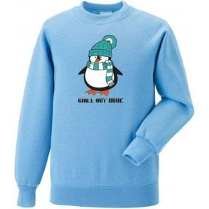 Chill Out Dude (Cartoon) Sweatshirt