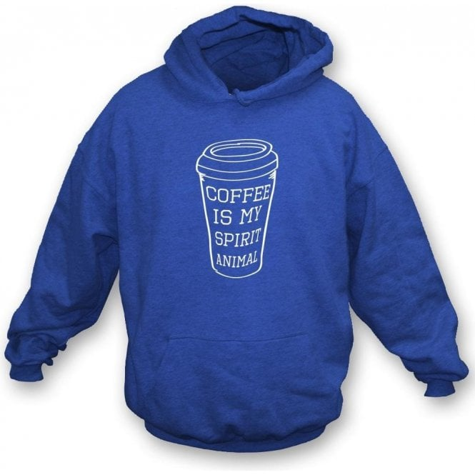Coffee Is My Spirit Animal Kids Hooded Sweatshirt