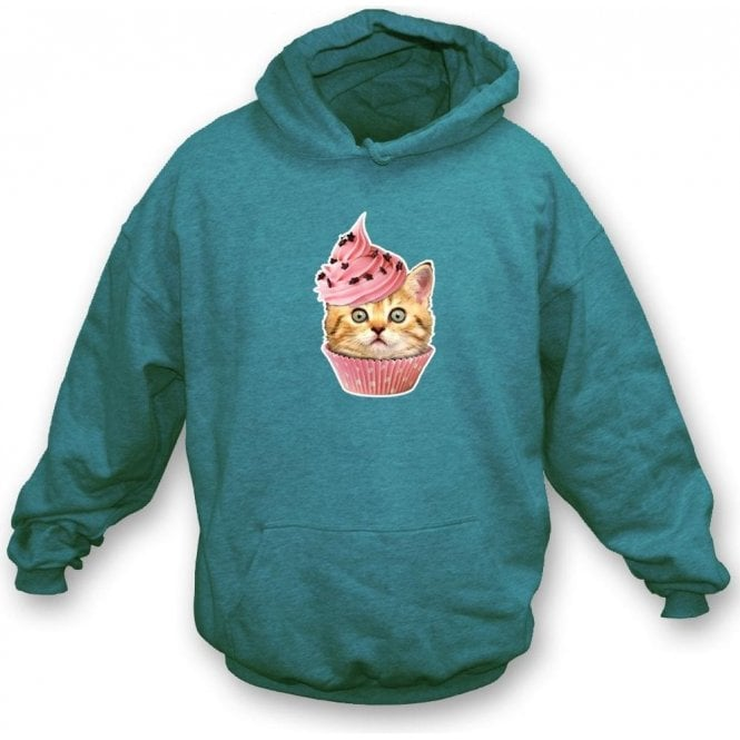 Cupcake Cat Kids Hooded Sweatshirt