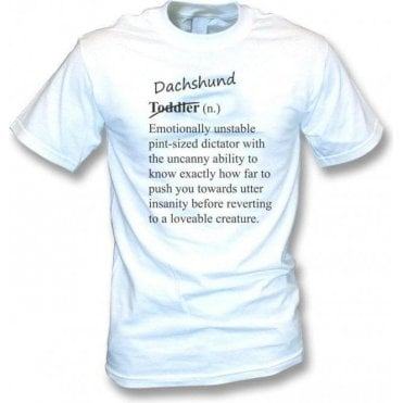 Dachshund Definition T-Shirt